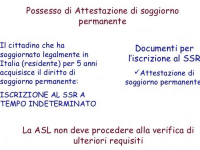 Аttestazione di soggiorno Permanente – сертификат на ...