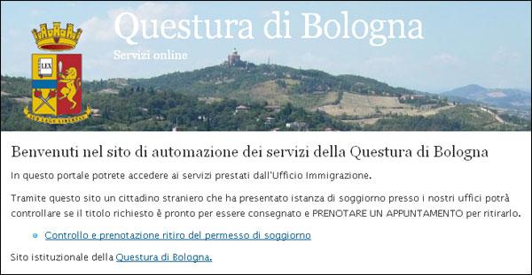 Ritiro Permesso Soggiorno Bologna ~ Il meglio del design degli interni