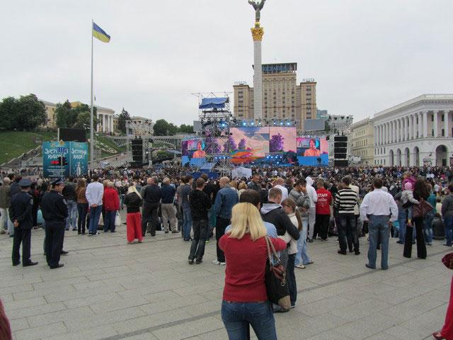 Концерт в Киеве на 9 мая