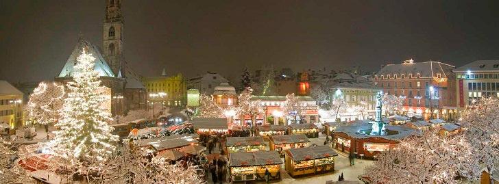 рождественский рынок в Больцано