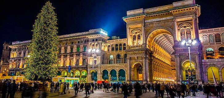 Милан рождество