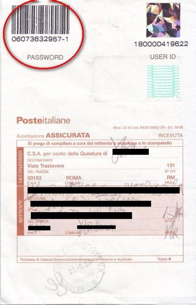 Как проверить готов ли вид на жительство Италии (permesso di soggiorno)