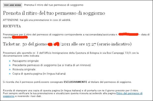Awesome Questura Di Bergamo Permessi Di Soggiorno Gallery - Design ...